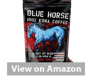 Best Kona Coffee - Blue Horse Kona Coffee Review