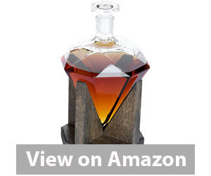 Best Whiskey Decanter - Prestige Diamond Liquor Decanter Review