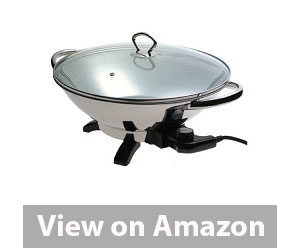 Best Electric Wok - Presto Stainless-Steel Electric Wok Review