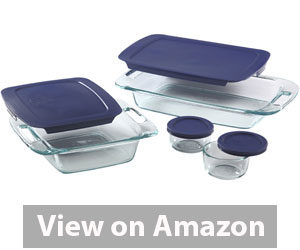 Best Bakeware Set - Pyrex Easy Grab 8-Piece Glass Bakeware and Food Storage Set Review
