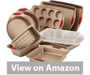 Best Bakeware Set - Rachael Ray Cucina Nonstick Bakeware 10-Piece Set Review