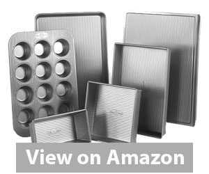Best Bakeware Set - USA Pan Bakeware Aluminized Steel Set Review